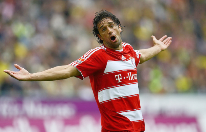 Luca Toni al Bayern Monaco