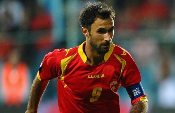 Vucinic capitano del Montenegro