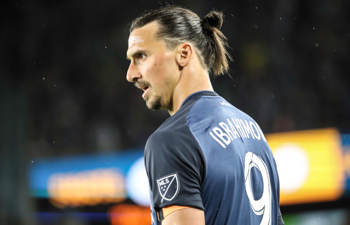 Zlatan Ibrahimovic con i Los Angeles Galaxy