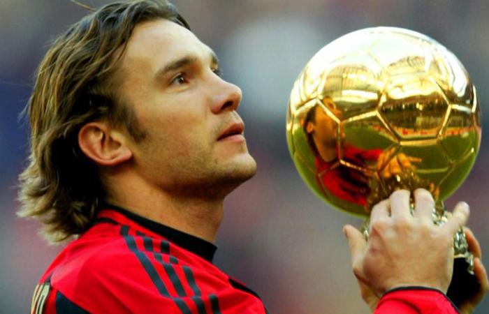 Usignolo di Kiev con il Pallone D'oro