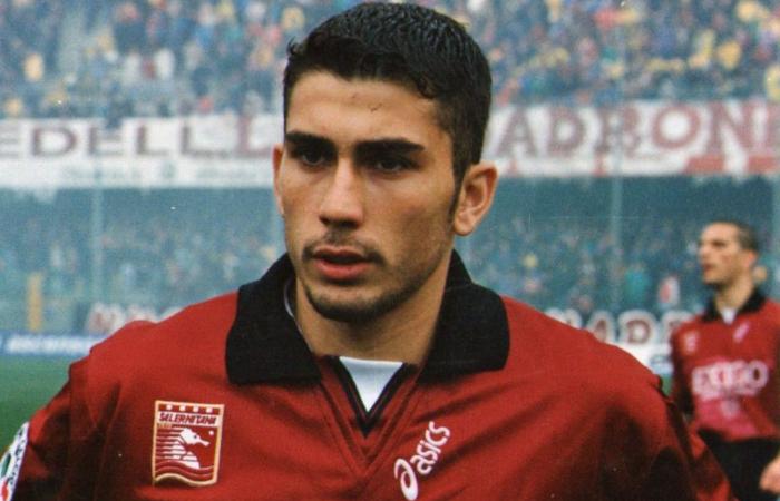 Il nomade del gol Marco Di Vaio alla Salernitana