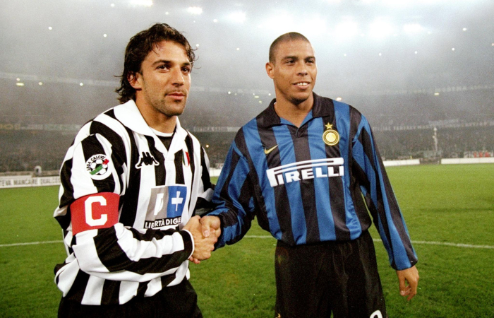 Ronaldo e Alex Del Piero