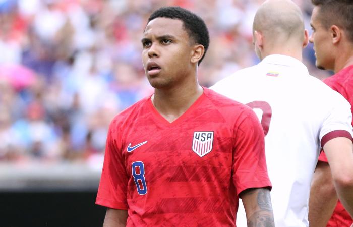 McKennie con la maglia della nazionale americana