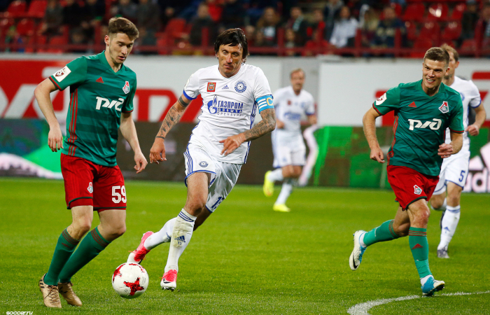 Aleksey Miranchuk con la Lokomotiv Mosca